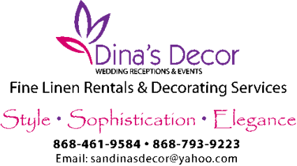Dina's Decor Linen Rentals - Trinidad and Tobago